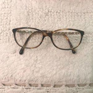 Authentic tortoise Chanel eyeglass frame